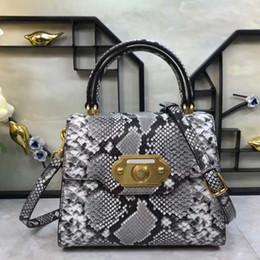 $enCountryForm.capitalKeyWord NZ - 2019 New lady's handbag SNAKE-PRINT leather lady's bag fashion European and American style high-end lady's bag