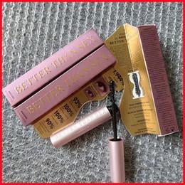 Wholesale love pink tops resale online – Mascara Better Than Sex Mascara Better than Love Cool Black Mascara Pink tube Pink Package CrulingWaterproof Top qualtity
