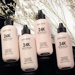 $enCountryForm.capitalKeyWord Australia - Waterproof Make Up Mineral Liquid Foundation Face Sun Block Foundation Cream Full Cover Base Concealer Makeup Cosmetics 120ml