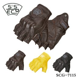 $enCountryForm.capitalKeyWord Australia - SSPEC motorcycle riding protection gloves half fingers moto sports daily cycling glove leather knight protective high quality gloves