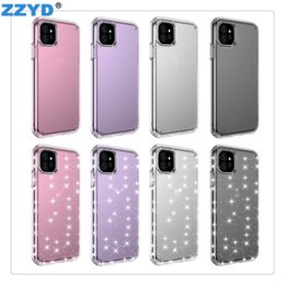 Flash phone covers online shopping - ZZYD Clear Phone Cases TPU Flashing Anti collision Flashing Cover For IP Pro Max XS MAX XR