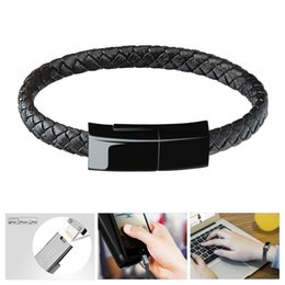 Wholesale Braided Hand Chain USB Data Bracelet Quick Charge Data Line For Men Women Creative Cortex Phone USB Cable Type C Android Pin