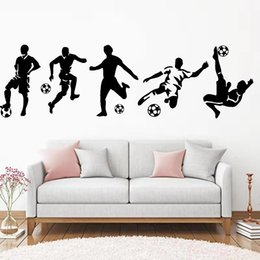 football wall stickers Australia - Diy Beckham football Wall Sticker Pvc Wall Art Stickers Modern Fashion Wallsticker For Kids Rooms Nursery Room Decor Decal Mural