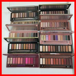 Makeup palette 12 colors online shopping - 2018 Face Makeup Eye Shadow nude color eyeshadow palette Heat cherry eye shadow palette