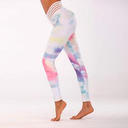$enCountryForm.capitalKeyWord NZ - 2019 Rainbow Women Yoga Pants Sports Leggings Workout Running Training leggings Push Up Tight Slim Comfortable Gym Wear