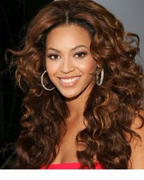 human hair beyonce full lace wig NZ - Beyonce hairstye 180% Density Full Human Hair Wigs For Black Women loose curl 360 Lace Frontal Wig 7A Lace Front Human Hair Wigs