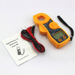 clamp multimeter ac dc Australia - Digital Amper Clamp Meter Multimeter Current Clamp Pincers Voltmeter Ammeter AC DC Ohm Current Voltage Tester