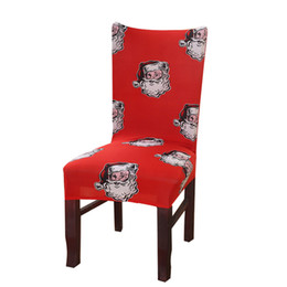 $enCountryForm.capitalKeyWord UK - Christmas chair covers universal size red Chair cover seat Covers Protector Seat Slipcovers for Hotel banquet home decor