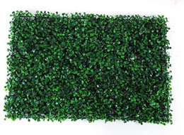 Discount fence decor - 40x60cm Green Grass Artificial Turf Plants Garden Ornament Plastic Lawns Carpet Wall Balcony Fence For Home Decor Decora