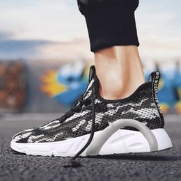 $enCountryForm.capitalKeyWord Australia - New Men's Shoes for Summer Young People Hollow Air-permeable Flying Weaving Men's Leisure Shoes Korean version Light Camouflage Sports Runni