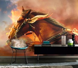 $enCountryForm.capitalKeyWord Australia - European-style hand-painted oil painting golden horse art wall decorative painting modern living room wallpapers