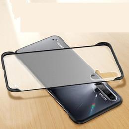 Huawei Honor casing online shopping - Frameless Bumper Hybrid Frosted Transparent Back Case For Huawei P20 LITE Honor i i Honor pro Nova i Pro