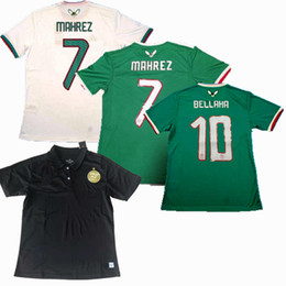 $enCountryForm.capitalKeyWord Australia - Top 2019 2020 Algeria Soccer Jerseys SLIMANI BOUNEDJAH BELAILI FEGHOULI MAHREZ home away training 19 20 football shirt S-2xl