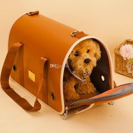 $enCountryForm.capitalKeyWord Australia - Best Portable Soft Pet Dog Cat Carrier Comfort Breathability Travel Tote Shoulder Bag Crate Cage House Kennel Pet Cage Outgoing Travel Bag