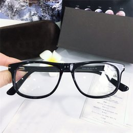 Double top plate online shopping - Classic vintage square plate frame men designer optical glasses selling popular simple retro style top quality transparent lens