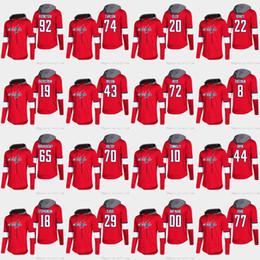 John T Shirts Australia - Alex Ovechkin Washington Capitals Braden Holtby T.J. Oshie Nicklas Backstrom Tom Wilson Andre Burakovsky Long Sleeve T-shirt Hoodies Jersey