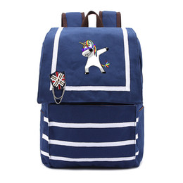 galaxy backpacks 2019 - Cute unicorn Dab Backpack Galaxy School Bags Fashion Students Backpack Travel Bag for teenagers school girls baicpack ch
