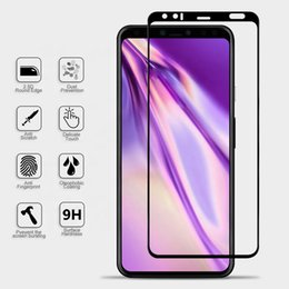$enCountryForm.capitalKeyWord Australia - Screen Protector for Google Pixel 4 4XL 3 3 XL full Coverage 2.5D Tempered Glass with silk printing and retail package