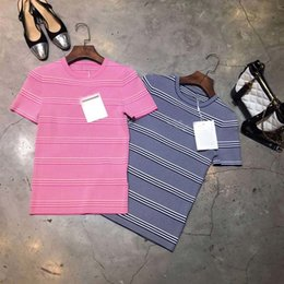 $enCountryForm.capitalKeyWord Australia - Runway 2019 New Spring Sweater short Sleeve pink blue Knitting Women Sweater please ask for the stock before place order