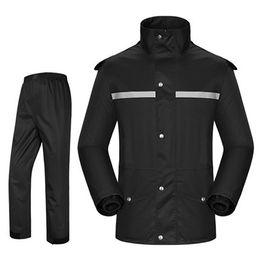 Suit Motorcycle Xxl Australia - Hiking Motorcycle Raincoat Poncho Outdoor Waterproof Cover Rain Coat Men Suit Casaco Masculino Regenjas Gear Rain Cape 50KO145 #219926