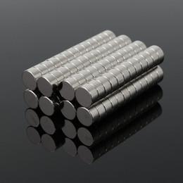 Powerful Neodymium Magnets Australia - 100pcs 6 x 3mm N50 Super Strong Disc Cylinder Rare Earth Neodymium Magnets Neodymium Magnet Powerful Hard to apart away