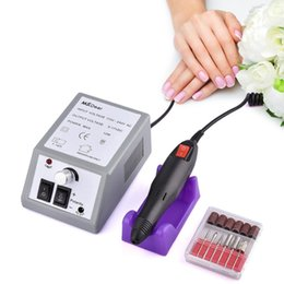 drill bit grinding machine UK - 20000RPM Electric File Drill Nail Art Bit Professional Manicure Grinding Machine Pedicure Polisher Tools Adjustable Nail Beauty