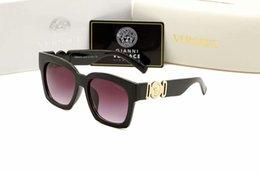 $enCountryForm.capitalKeyWord Australia - Reliable Quality Fashion Top Quality Sunglasses for Men Black VR46 Frame Fire Lens NEW 9102 Brand designer Glasses