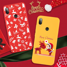 Discount redmi phone - Christmas Pattern Phone Case For Xiaomi Redmi Note 8 Pro K20Pro TPU Shell For Xiaomi Mi 9T Pro 9SE Santa Claus Cover