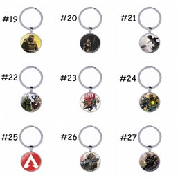 Wholesale 49 design Apex legends keyrings hot sell game Apex legends keychain