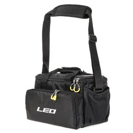 Fish Hand Bags NZ - LEO Multifunctional Padded Fishing Tackle Bag Fishing Accessories Storage Bag Case Carp Shoulder Hand #562833