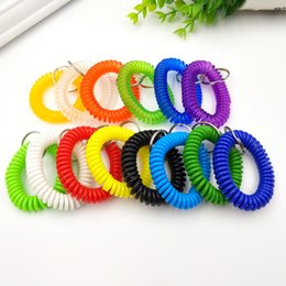 Key Spring Australia - Plastic Spring Ring Telephone Line Plastic Spring Ring Key Ring Promotion Gifts for Family Friends Colorful