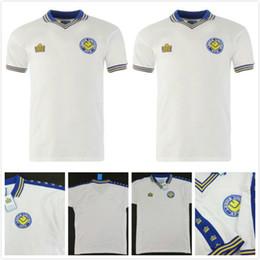 8749b9ab Leeds United 1978 Admiral Retro Football Shirt Keith PARKINSON Brian  GREENHOFF hOME Soccer Jersey