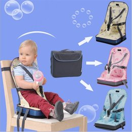 infant feeding chairs UK - fashion Baby Safety Waterproof Soft Dinner Oxford Cotton Fashion Infant Seat Feeding Highchair For Baby chair Seat