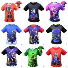 Blouse Cotton Baby Boy Australia - Baby Clothes Apex Legends T Shirt Boys Summer Cartoon Shirts Big Kids Cotton Print Blouse Games Fashion Tops Short Sleeve Street Tees B4646