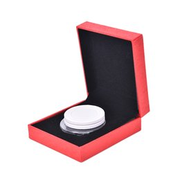 Toy Display Cases Australia - Portable Single Coin Display Case Box for Coin Collections 8.2x7x2.8cm 2
