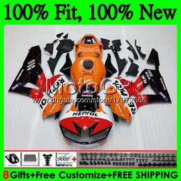 Honda Cbr Fairing Repsol Blue White Australia - Injection For HONDA Repsol orange CBR600RR F5 13 14 15 16 17 62GP3 CBR 600RR 600 RR CBR600 RR 2013 2014 2015 2016 2017 Fairing Bodywork