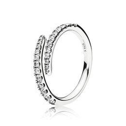 accessories for pandora 2019 - Luxury CZ Diamond meteor Wedding Ring Original box For Pandora 925 Sterling Silver Open Rings Set Fashion Accessories ch
