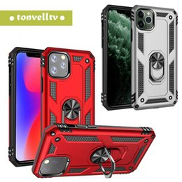 outlet apple NZ - Hybrid Shockproof armor automobile air outlet bracket Phone Case For iPhone 11 pro max 7 8 plus X XS For Samsung NOTE 10 S10 Plus