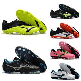 Futsal Shoes Australia - 2018 New Mizuno Rebula V1 Mens Football Boots Soccer Shoes Cleats BASARA AS WID Hot Outdoor Futsal Sports Sneakers Size 40-45