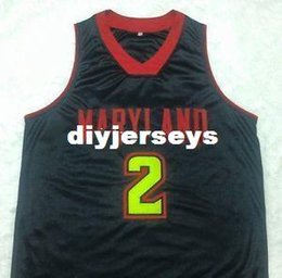 $enCountryForm.capitalKeyWord Australia - Cheap Mens Maryland Terrapins #2 Melo Trimble Embroidery Basketball Jersey New Materials With Double Stitching Shirt Custom any Number