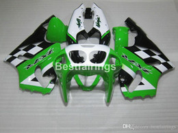$enCountryForm.capitalKeyWord Australia - High quality plastic fairing kit for Kawasaki Ninja ZX7R 96 97 98 99 00-03 green white black fairings kits ZX7R 1996-2003 TY12