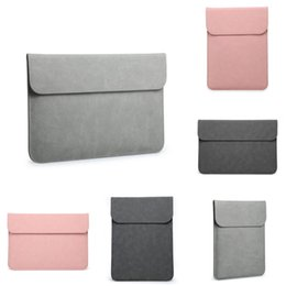 tablet 12 UK - Top Laptop Bag For Macbook Air Pro Retina 11 12 13 14 15 15.6 Inch Laptop Sleeve Case Pc Tablet Case er For Xiaomi Air Hp Dell #997