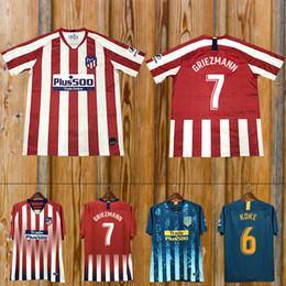 4f59f798b3c Soccer jerSey xl online shopping - custom Madrid Atletico Soccer Jersey  GRIEZMANN Correa Lucas Costa Koke