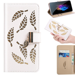 leaving cards Australia - For iPhone X XS Flip Cover Stand Wallet PU Leather Case For iPhone XR XS Max With Card Slots Hollow Out Gold Leaves