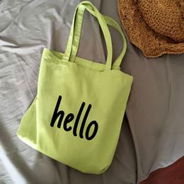$enCountryForm.capitalKeyWord Australia - letter custom logo advertising canvas tote shopping bag gifts foldable reusablebag creative print handabg eco design market bag
