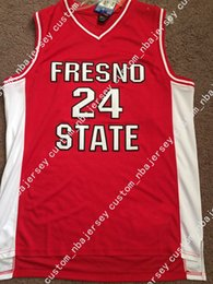 3506d9a69 Cheap custom Vintage Paul George Fresno State Bulldogs NCAA Basketball  Jersey Stitched Customize any number name MEN WOMEN YOUTH XS-5XL