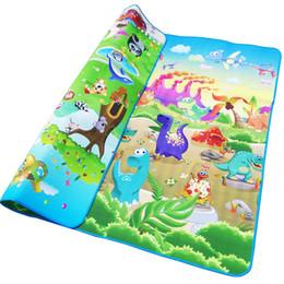 $enCountryForm.capitalKeyWord UK - Baby Play Crawling Mat Double Surface Baby Carpet Rug Animal Car+Dinosaur Developing Mat for Children Game Pad Blanket