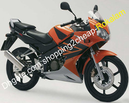 $enCountryForm.capitalKeyWord Australia - For Honda CBR125R CBR 125R CBR 125RR CBR125RR CBR125 R Fashion Fairing 2002 ~ 2006 Motorcycle Aftermarket Kit Orange Black Silver