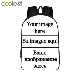 Cell Phone Images Australia - Customize The Image Backpack Women Men Travel Bags Anime Children School Bags Backpack Boys Girls Book Bag Kids Gift Backpacks