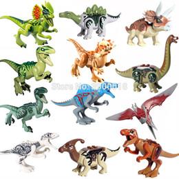 $enCountryForm.capitalKeyWord Australia - For Legoing Jurassic Dinosaurs World Of Park Velocirap Tyrannosaurus Rex Movie Set Models Building Blocks Bricks Toys Figures
